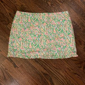 Lilly Pulitzer lighthouse skirt